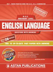G C E  Ordinary Level Sri lanka - English Language - Astan
